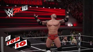 Catching & Catapult Finishers from outta nowhere: WWE 2K16 Top 10