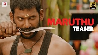 Maruthu - Official Teaser - Vishal, Sri Divya - D. Imman