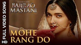Mohe Rang Do Laal Full Video Song - Bajirao Mastani