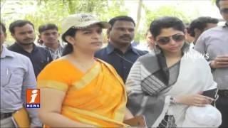 Smitha Sabharwal Investigates Mission Kakatiya Works in Adilabad  iNews