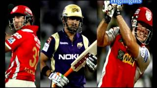 IPL 2016׃ KXIP VS KKR Short Highlights - Kolkata vs Punjab Full Match 04⁄05⁄2016 Match 32