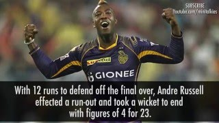 M32-IPL 2016 KKR vs KXIP (Andre Russell 4-Wicket Match 32 Highlights) Kolkata vs Punjab 2016