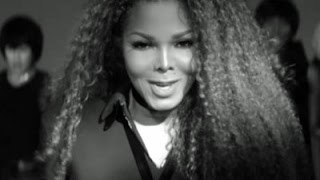 On Set With Janet Jackson for 'Dammn Baby'