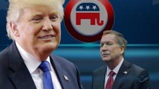 Trump Pivots To November as Kasich Drops WH Bid