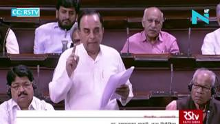 Subramanian Swamy makes direct attack on Sonia Gandhi in AgustaWestland
