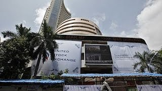 Sen$ex up with 304 shares, Rupee falls by 4 paise in early trade