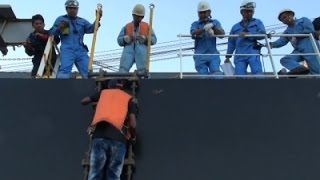 Raw: Mariner Rescued After 2 Months at Sea
