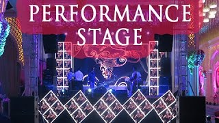 LED Stage Setup  Entertainment stage  Lighting & Sound I Vibes Entertainment
