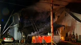 Raw: Six Dead in Syracuse House Fire