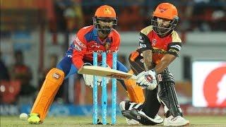 IPL 2016 - Sunrisers Hyderabad vs Gujarat Lions - Shikhar Dhawan Guides Hyderabad To 5-Wicket Win
