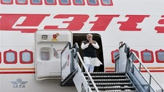Modi's air travel in 2015 16 has cost Air India Rs 117 cr