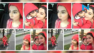 Super cute pictures of Divya Khosla Kumar with son