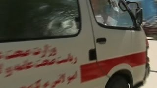 Raw: More than 50 Dead in Afghanistan Bus Crash