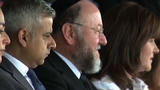 London's New Mayor Attends Holocaust Memorial