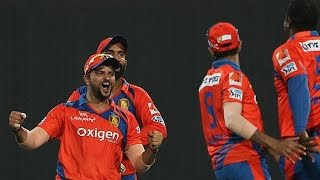 IPL 2016 - Kolkata Knight Riders vs Gujarat Lions - Gujarat Lions Beat KKR By Five Wickets
