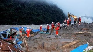 41 Missing After Landslide Buries Hydro Project Site In China