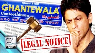 Shahrukh Khan Gets LEGAL Notice From Sweet Shop Owner
