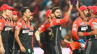 IPL 2016 - Royal Challengers Bangalore vs Kings XI Punjab - RCB Wins by One Run in a Thriller