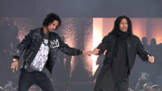 Les Twins THE DANCE 2016 (Urban Dance Competition) PERFORMANCE in Zurich