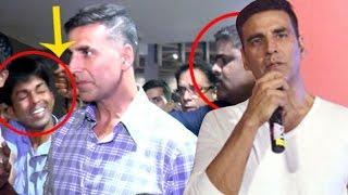Akshay Kumar APOLOGISES in front of media for bodyguard's slap to fan