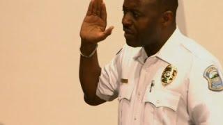 Raw: Ferguson Swears In New Police Chief