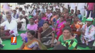 Congress Leaders RDS Strike in Mahabubnagar iNews