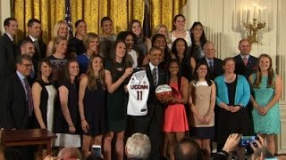 Pres. Obama Honors UConn Women's Basketball Team