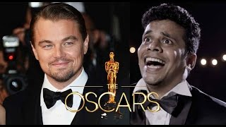 Crazy Leonardo fan at The Oscars 2016 - BC Films - Broken Cameras Films