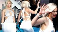 Jennifer Lawrence's NASTY TUMBLE  X-Men Apocalypse PREMIERE