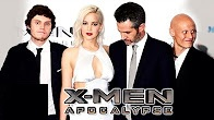 X-Men Apocalypse Movie PREMIERE Video Jennifer Lawrence