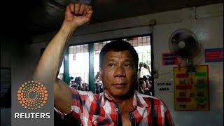 Philippines president-elect Duterte, gets down to business