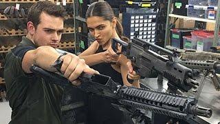 Deepika Padukone trains with GUNS for XXX : Return of Xander Cage