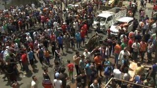 Raw: Aftermath of Deadly Baghdad Car Blast