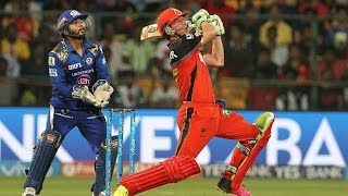IPL 2016 - Royal Challengers Bangalore vs Mumbai Indians - RCB set 152 Run Target for MI