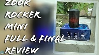 {Hindi} Zoook Rocker Mini Full & Final Review With Pros & Cons