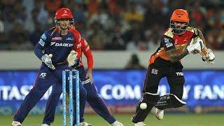 IPL 2016 - Delhi Daredevils vs Sunrisers Hyderabad - Daredevils Limit Sunrisers to 146/8