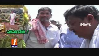Heavy Air and Rain Losses Farmer Crops in Kadapa Dist iNews