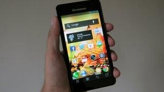 lenovo k860i first look (new 5inch screen smartphone) - TechTreat - Vijay Mahar