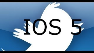 how to get IOS 5 twitter app on ios4 FOR FREE(no jailbreak needed) - TechTreat - Vijay Mahar