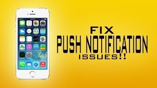 The only way to Fix Iphone push for free!!(Works 200%)