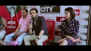 Real and Reel cast of Azhar get chatty at the Fever Studios!