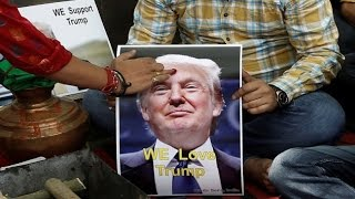 Hindu group prays for Trump's victory