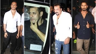 Baaghi Success Party - Salman Khan, Tiger Shroff, Shahid Kapoor, Sanajy Dutt & Varun Dhawan