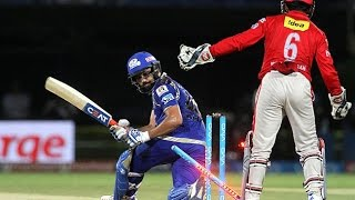 IPL 2016 - Kings XI Punjab vs Mumbai Indians - Kings XI Punjab Restrict Mumbai Indians to 124/9