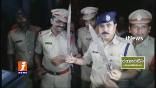 Police Cordon Drive In Mangalhat Area 7 Rowdy Sheeters Arrested iNews