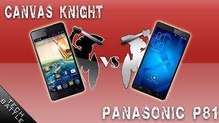 Panasonic P81 -vs- Micromax Canvas Knight [OCTACORE war]