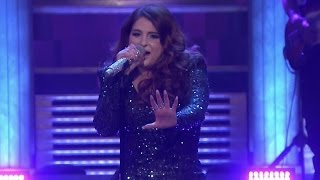 Meghan Trainor Takes HUGE Tumble Onstage During Me Too Tonight Show Performance