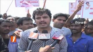 Jana Sena Party Activities Staged Jala Deeksha For AP Special Status In Kakinada iNews