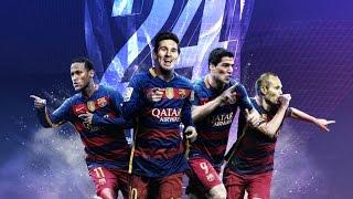 Barcelona wins La Liga title 2015/2016