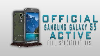 Samsung Galaxy S5 Active Full Specification Review [Snapdragon 801,Apocalypse proof & much more]